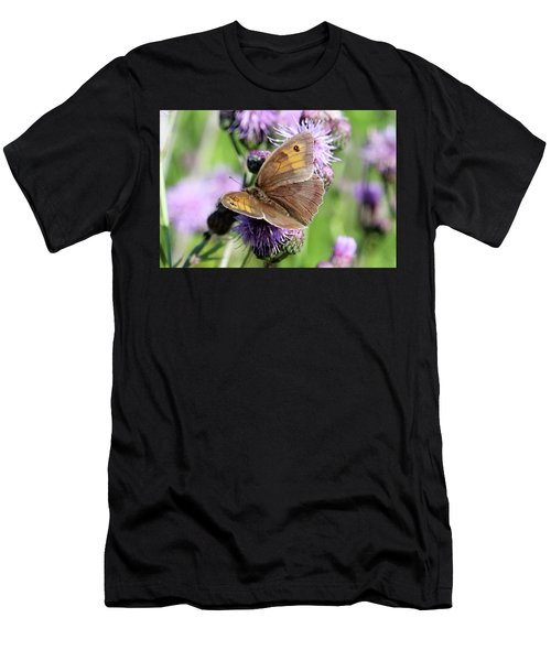 Butterfly Photograph  Men's T-Shirt (Athletic Fit)