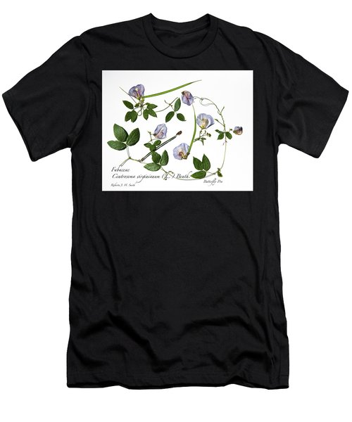 Butterfly Pea Men's T-Shirt (Athletic Fit)