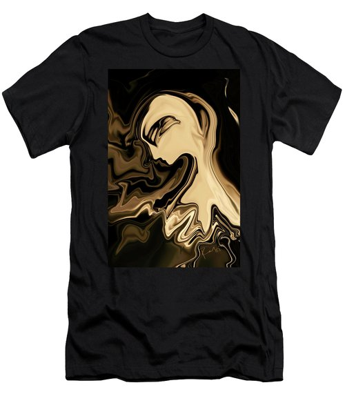 Men's T-Shirt (Slim Fit) featuring the digital art Butterfly Princess by Rabi Khan