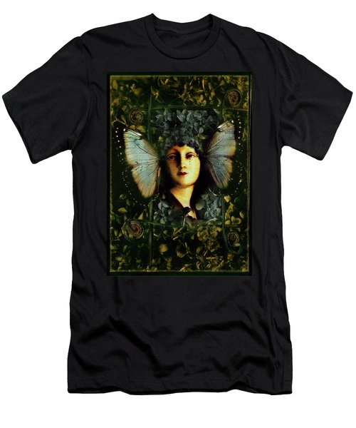 Butterfly Woman Men's T-Shirt (Athletic Fit)