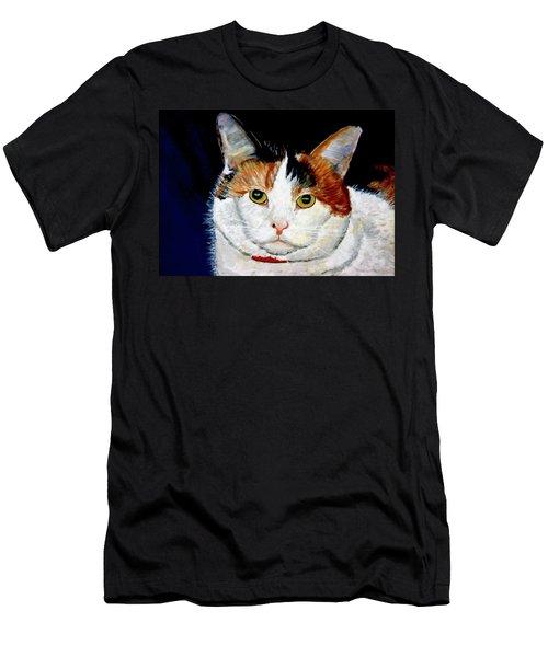 Buttons Men's T-Shirt (Slim Fit) by Stan Hamilton