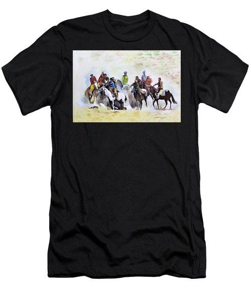 Buzkashi Sport Men's T-Shirt (Athletic Fit)