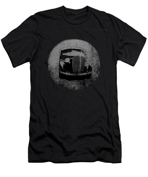 Buzz Art Round By Lesa Fine Men's T-Shirt (Athletic Fit)