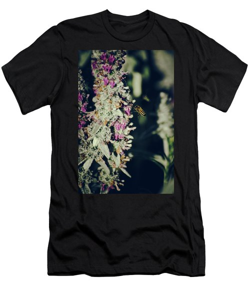 Buzzing In My Lamb's Ear Men's T-Shirt (Athletic Fit)