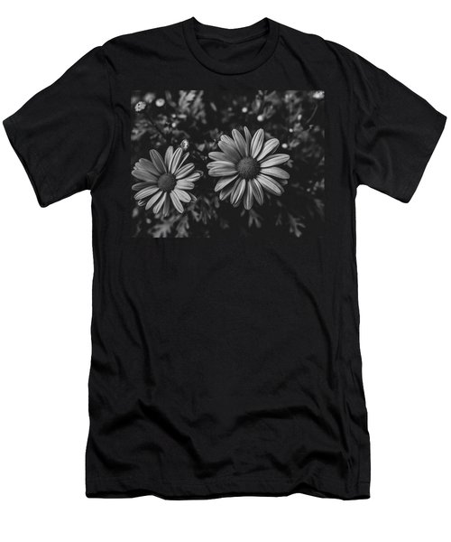 Bw Daisies Men's T-Shirt (Athletic Fit)