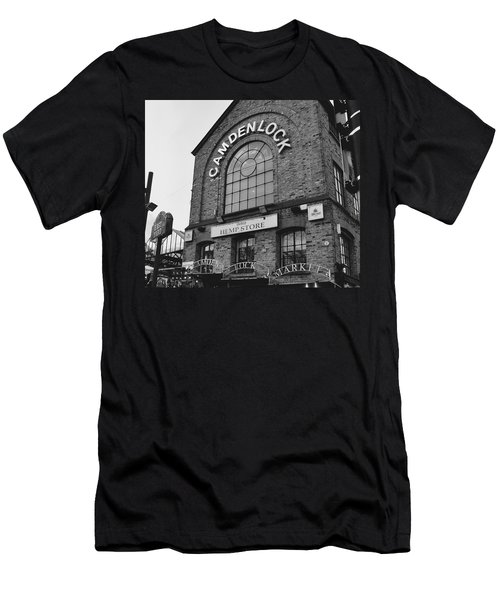 Bw Series Camden Lock Market Men's T-Shirt (Athletic Fit)