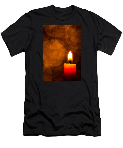 By Candle Light Men's T-Shirt (Athletic Fit)