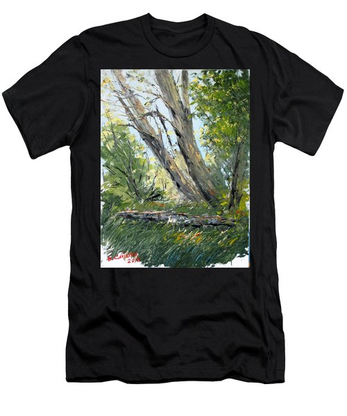 By The River Men's T-Shirt (Athletic Fit)