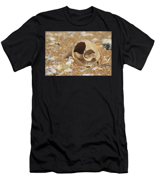By The Sea Shore Men's T-Shirt (Athletic Fit)