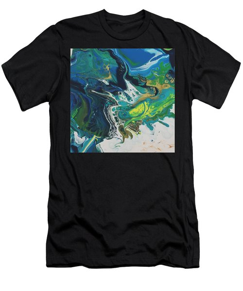 By The Seaside Men's T-Shirt (Athletic Fit)