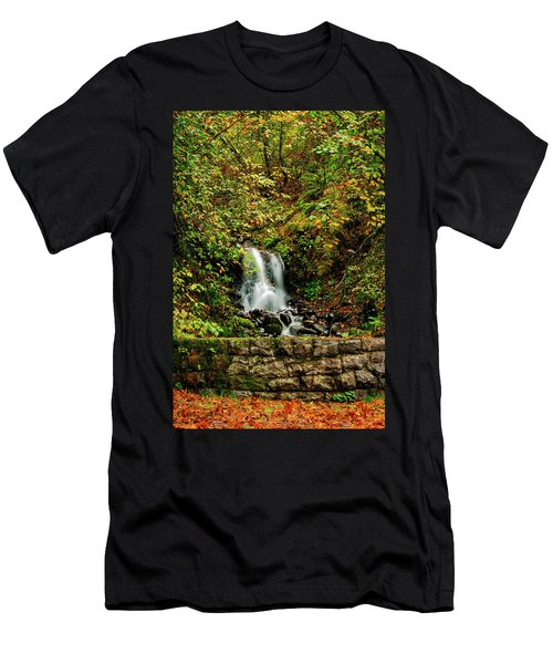 By The Side Of The Road Men's T-Shirt (Athletic Fit)