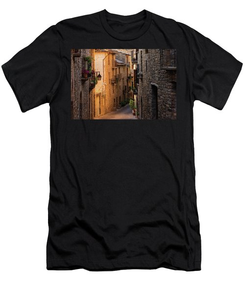 By The Town Of Ainsa In The Province Of Huesca Men's T-Shirt (Athletic Fit)