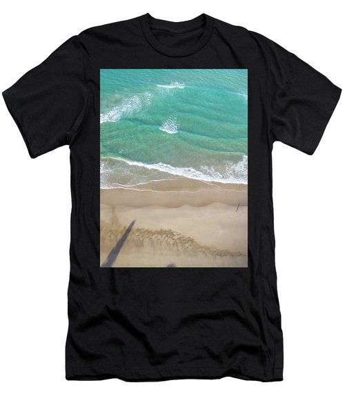Men's T-Shirt (Athletic Fit) featuring the photograph Byron Beach Life by Chris Cousins