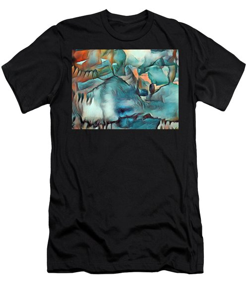 Byzantine Abstraction Men's T-Shirt (Athletic Fit)