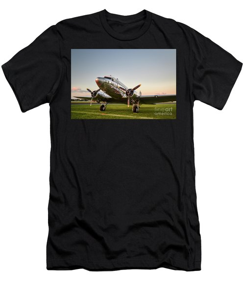 C-47 At Dusk Men's T-Shirt (Athletic Fit)