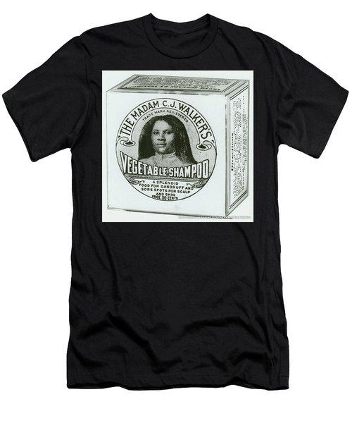C. J. Walker Black Hair Care Men's T-Shirt (Athletic Fit)