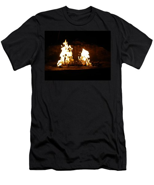 Cabana Fire  Men's T-Shirt (Athletic Fit)