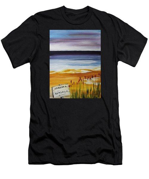 Cabana Rental Men's T-Shirt (Athletic Fit)
