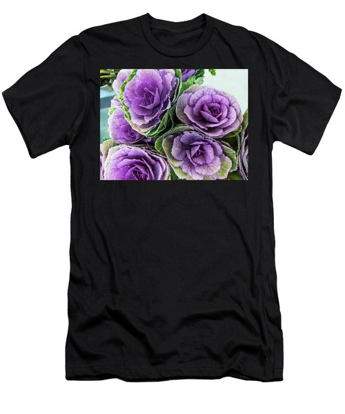 Cabbage Flower Men's T-Shirt (Athletic Fit)