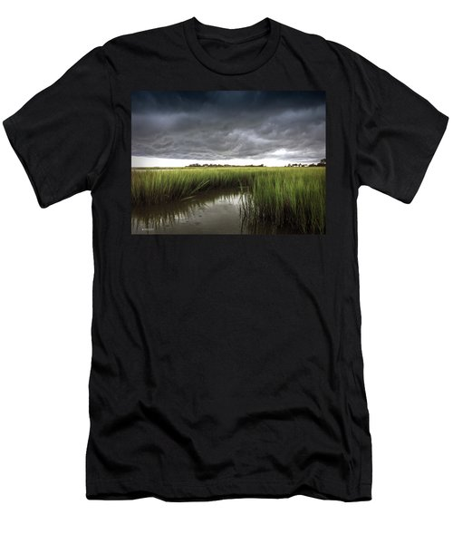 Cabbage Inlet Cold Front Men's T-Shirt (Athletic Fit)