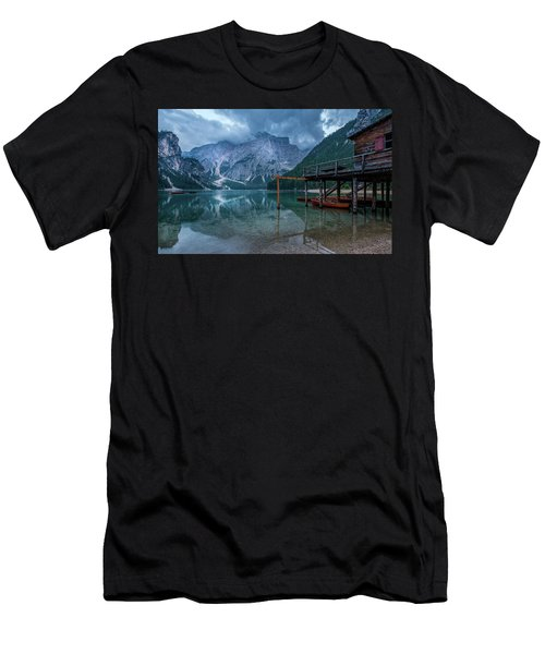 Cabin By The Lake Men's T-Shirt (Athletic Fit)