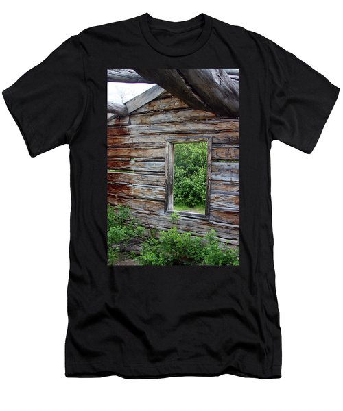 Cabin Window Men's T-Shirt (Athletic Fit)