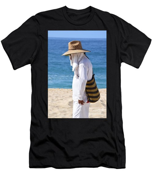Cabo Beach Hawker. Men's T-Shirt (Athletic Fit)