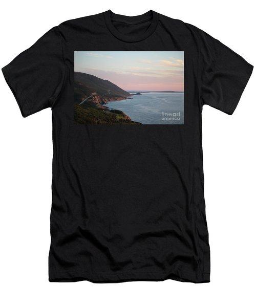 Cabot Trail At Dusk Men's T-Shirt (Athletic Fit)