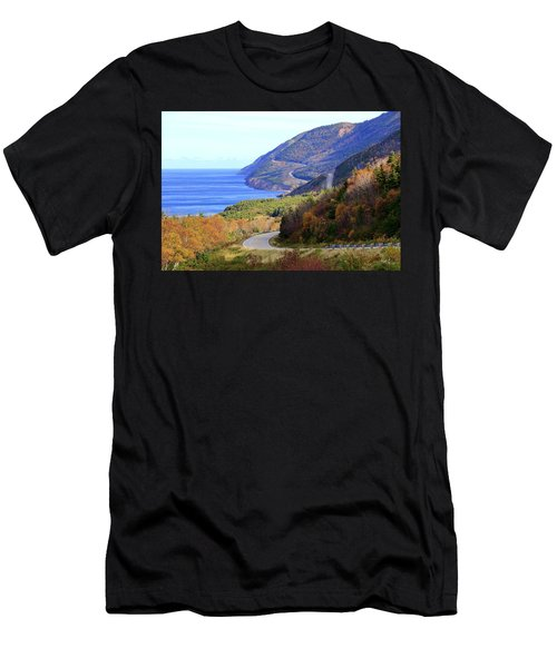 Cabot Trail, Cape Breton, Nova Scotia Men's T-Shirt (Athletic Fit)
