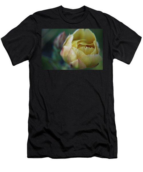 Cactus Beauty Men's T-Shirt (Athletic Fit)
