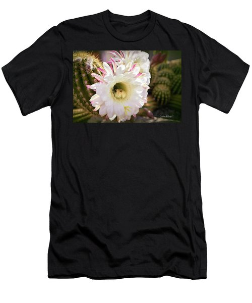 Cactus Bloom 2 Men's T-Shirt (Athletic Fit)