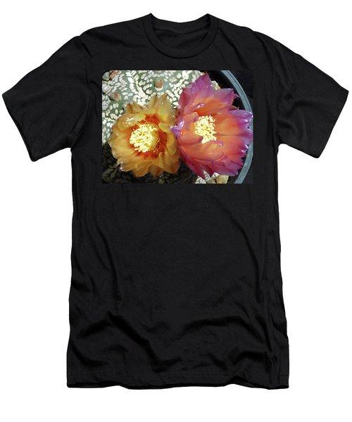 Cactus Flower 3 Men's T-Shirt (Athletic Fit)