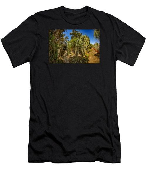 Cactus Jungle Men's T-Shirt (Athletic Fit)