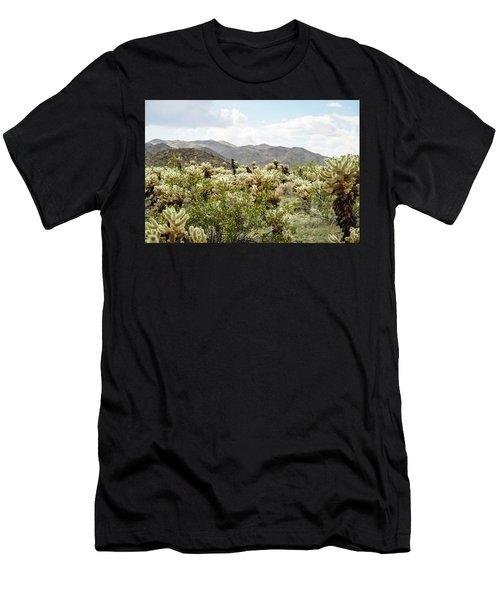 Cactus Paradise Men's T-Shirt (Athletic Fit)