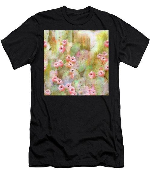 Cactus Rose Men's T-Shirt (Athletic Fit)