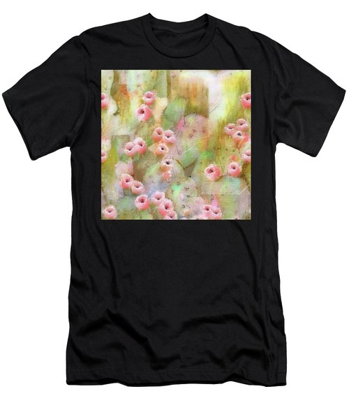 Cactus Rose Men's T-Shirt (Athletic Fit)