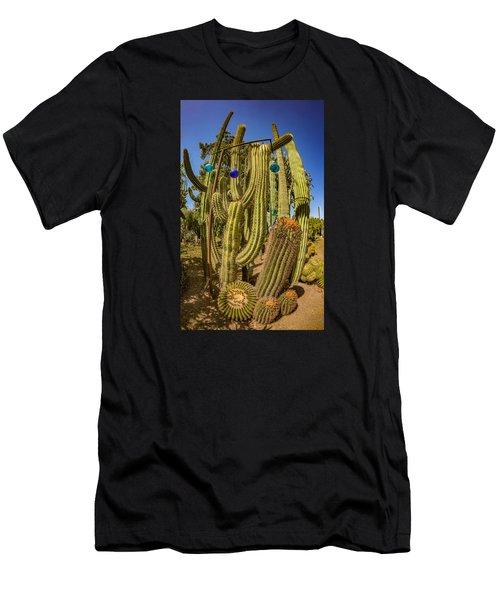 Cactus Skyscraper Men's T-Shirt (Athletic Fit)