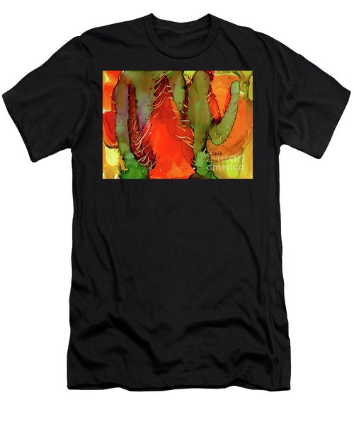 Cactus Men's T-Shirt (Athletic Fit)