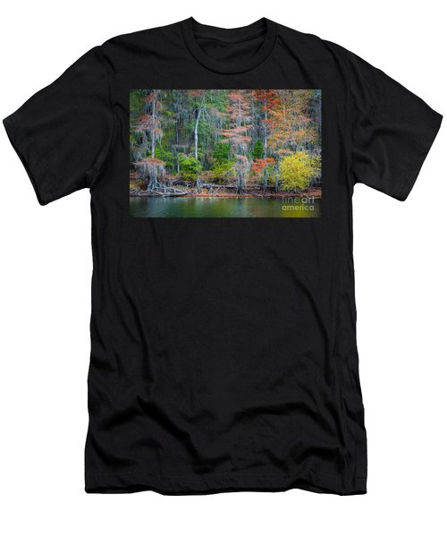 Caddo Lake Fall Foliage Men's T-Shirt (Athletic Fit)