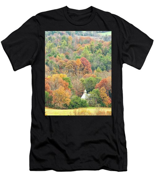 Cades Cove Methodist Church Men's T-Shirt (Athletic Fit)