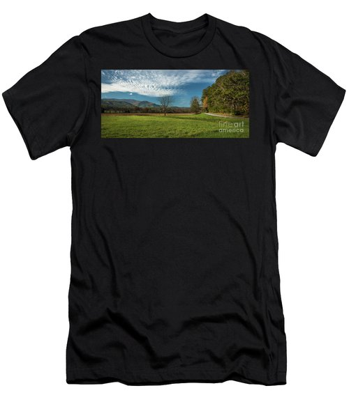 Cades Cove Tennessee Men's T-Shirt (Athletic Fit)