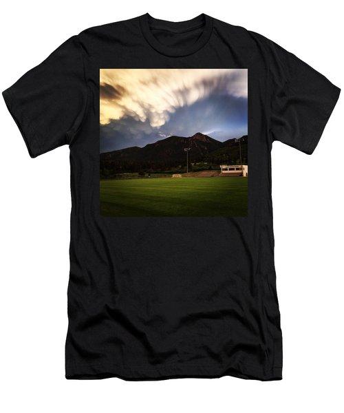 Cadet Soccer Stadium Men's T-Shirt (Athletic Fit)