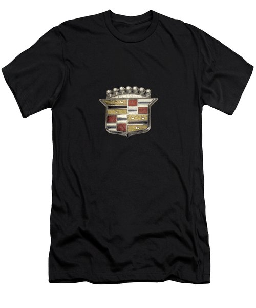 Cadillac Badge Men's T-Shirt (Athletic Fit)