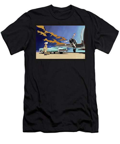 Cadillac Eldorado 1959 Men's T-Shirt (Athletic Fit)