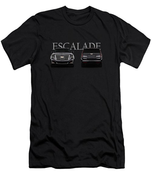 Cadillac Escalade Men's T-Shirt (Athletic Fit)