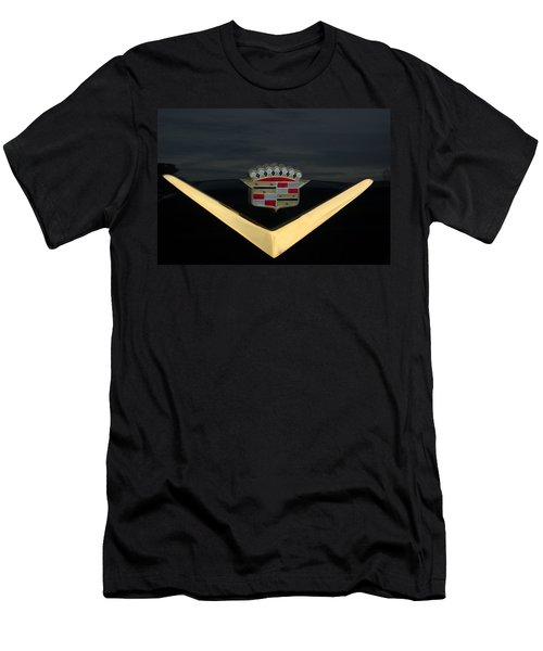 Cadillac Hood Emblem Men's T-Shirt (Athletic Fit)