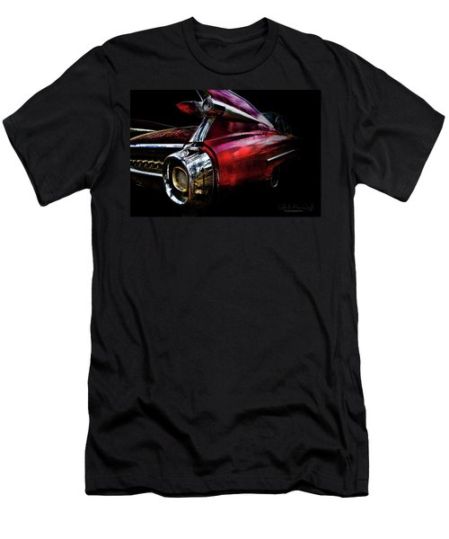 Men's T-Shirt (Athletic Fit) featuring the photograph Cadillac Lines by Glenda Wright
