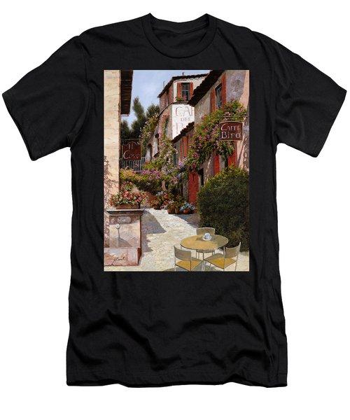 Cafe Bifo Men's T-Shirt (Athletic Fit)