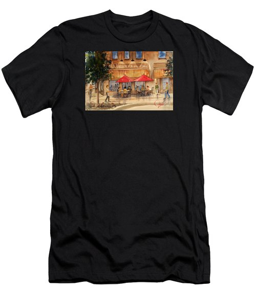 Cafe Chocolate Men's T-Shirt (Athletic Fit)