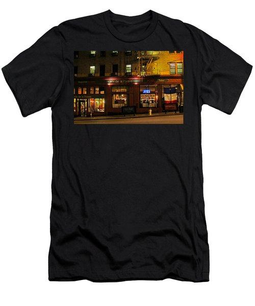Cafe De La Presse On Bush St Men's T-Shirt (Athletic Fit)